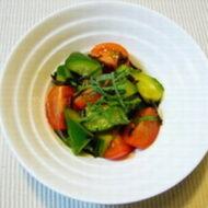 塩こんぶ&野菜のさっぱりサラダ