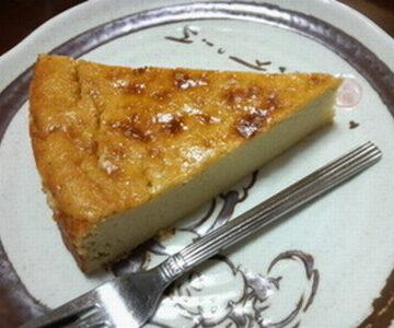 昆布粉のチーズケーキ