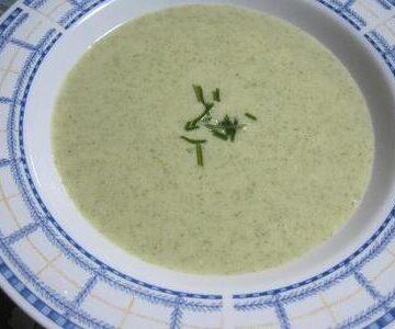 昆布のポタージュスープ