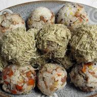 糸切昆布と根菜の混ぜご飯