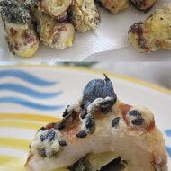 ちくわの天ぷら~チーズ&昆布コロモ