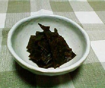 昆布と鰹節の佃煮