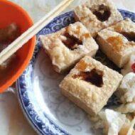 揚げ豆腐とろろ昆布風味