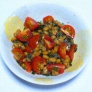 昆布トマト納豆