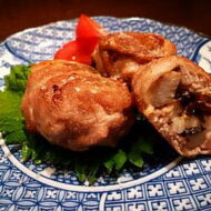 山芋と塩昆布の豚肉巻き