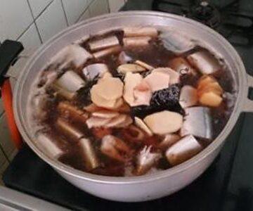 塩昆布と女川産サンマの佃煮