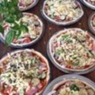 豊島野菜の石窯ピザ