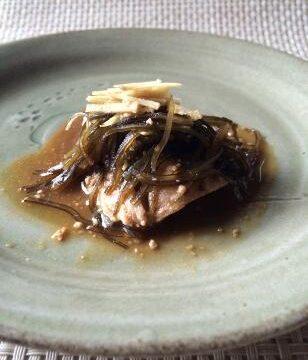 福来魚(ふくらぎ)の昆布味噌煮