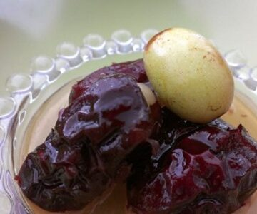 甜心蜜棗(なつめと白玉の甘煮)