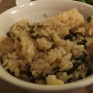 昆布とエリンギの混ぜご飯