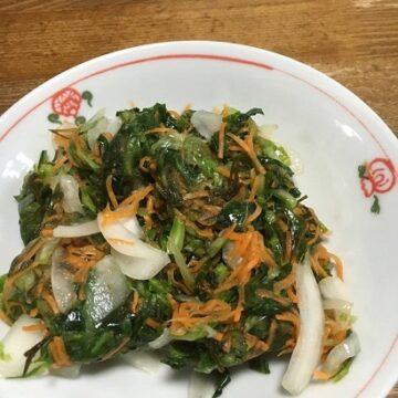 野菜とおぼろこんぶのサワ-づけ