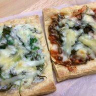 『きつねピザ風』2種