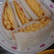 昆布出汁使用の絶品!日本風たまごサンドイッチ