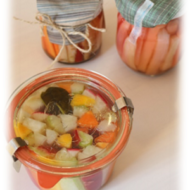 昆布入り彩り野菜の和風ピクルス