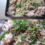 新巻鮭と昆布の炊き込みご飯